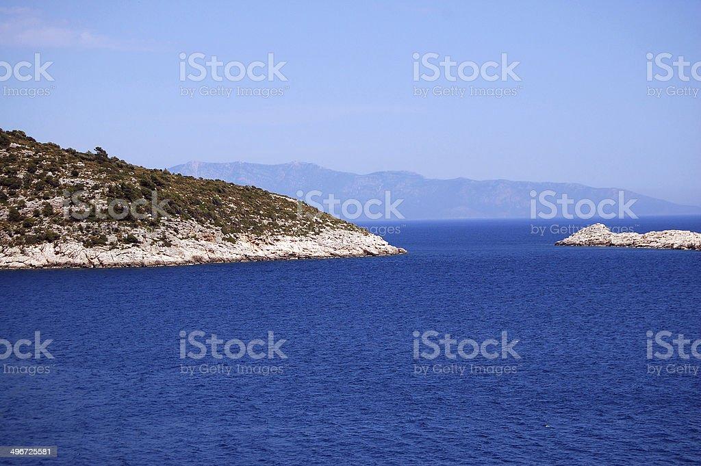 Seaway stock photo