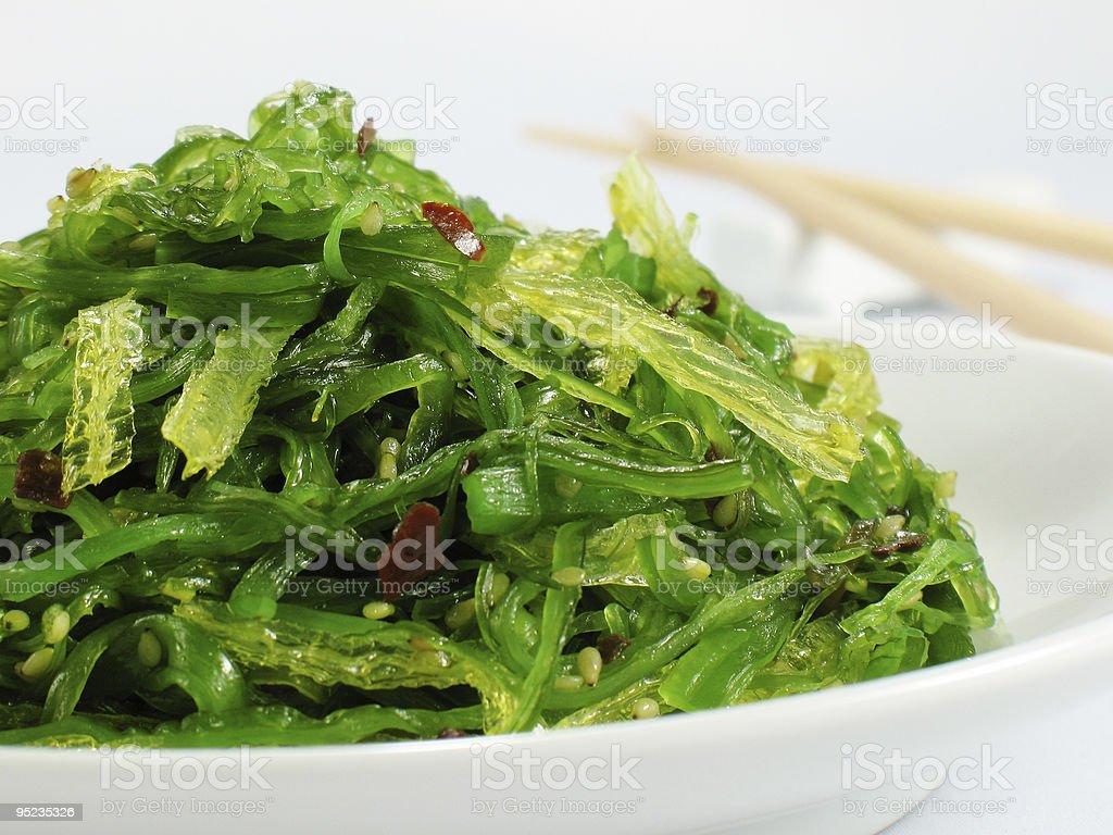 Seaweed Salad royalty-free stock photo