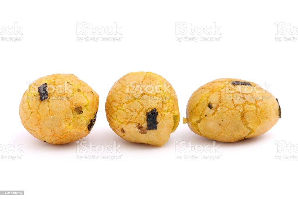 Seaweed Snack Balls royalty-free stock photo