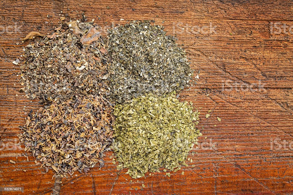 seaweed supplements stock photo