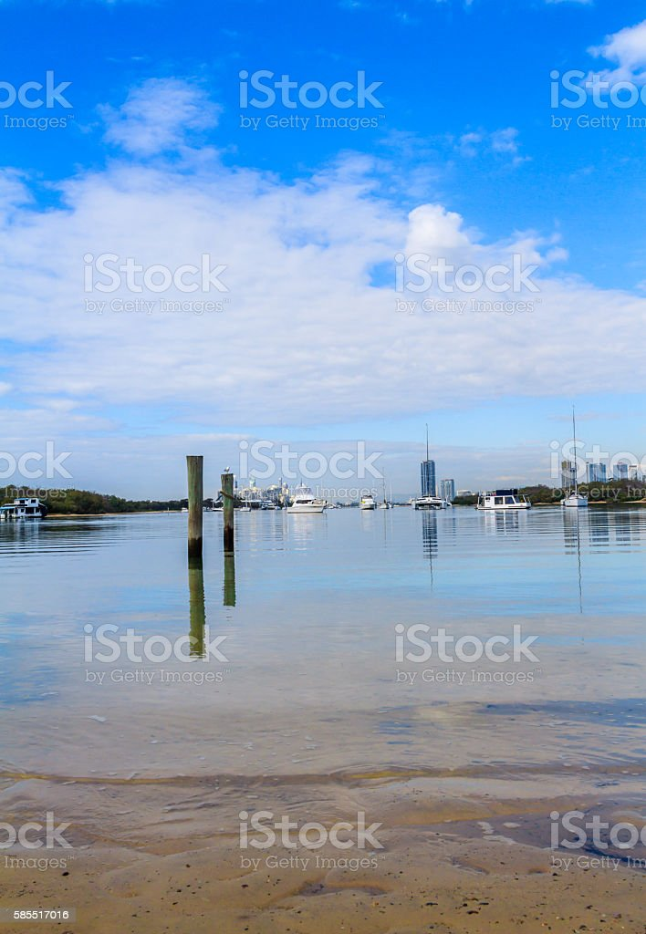 Seaworld beaches stock photo