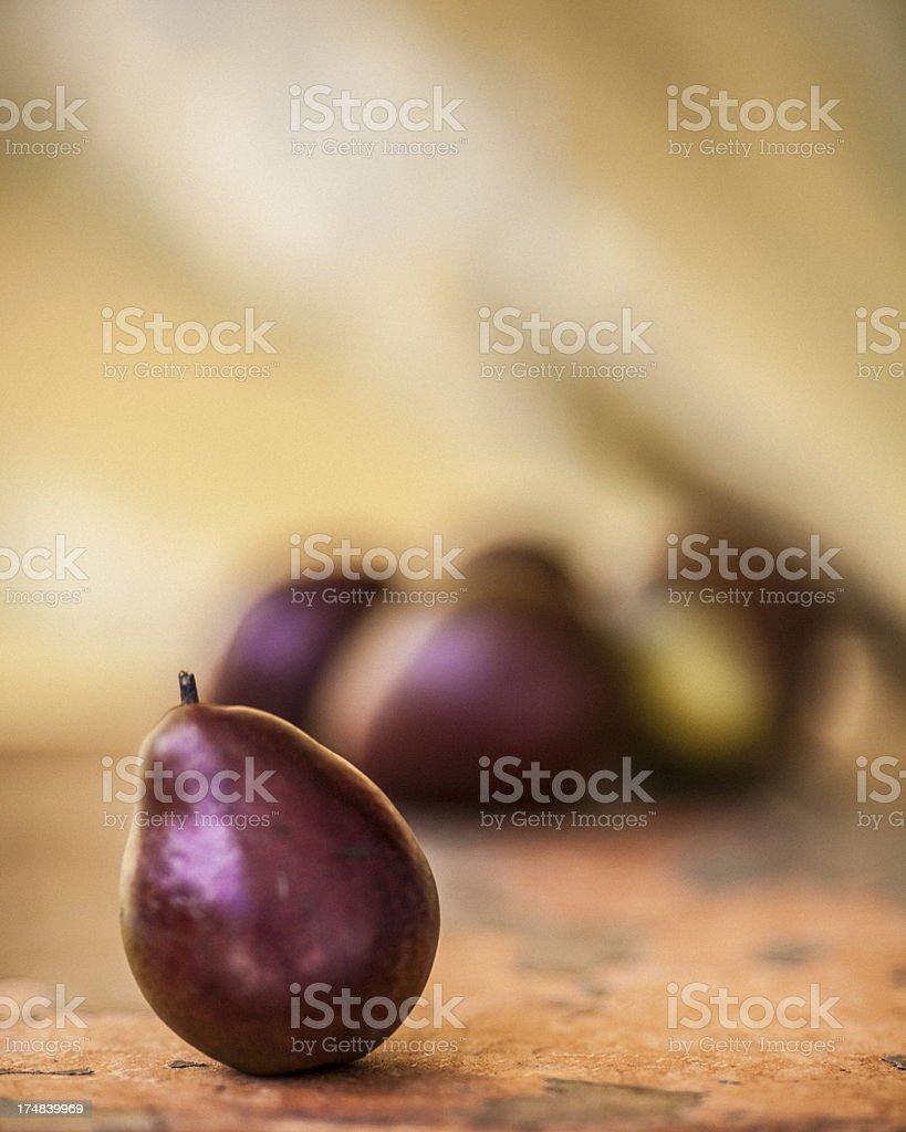 Seckel pears royalty-free stock photo