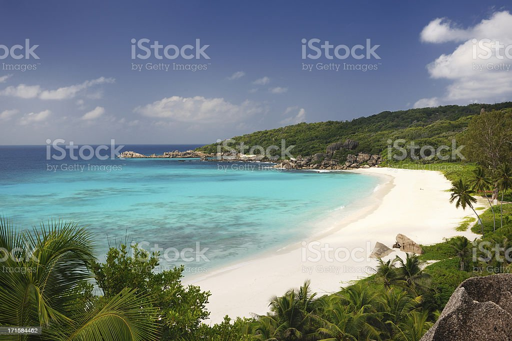 Secluded Tropical Bay royalty-free stock photo