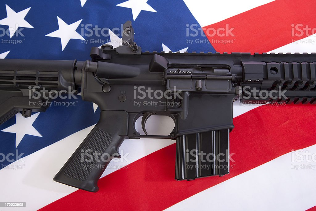 Second Amendment royalty-free stock photo