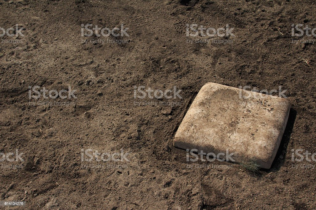 Second base stock photo