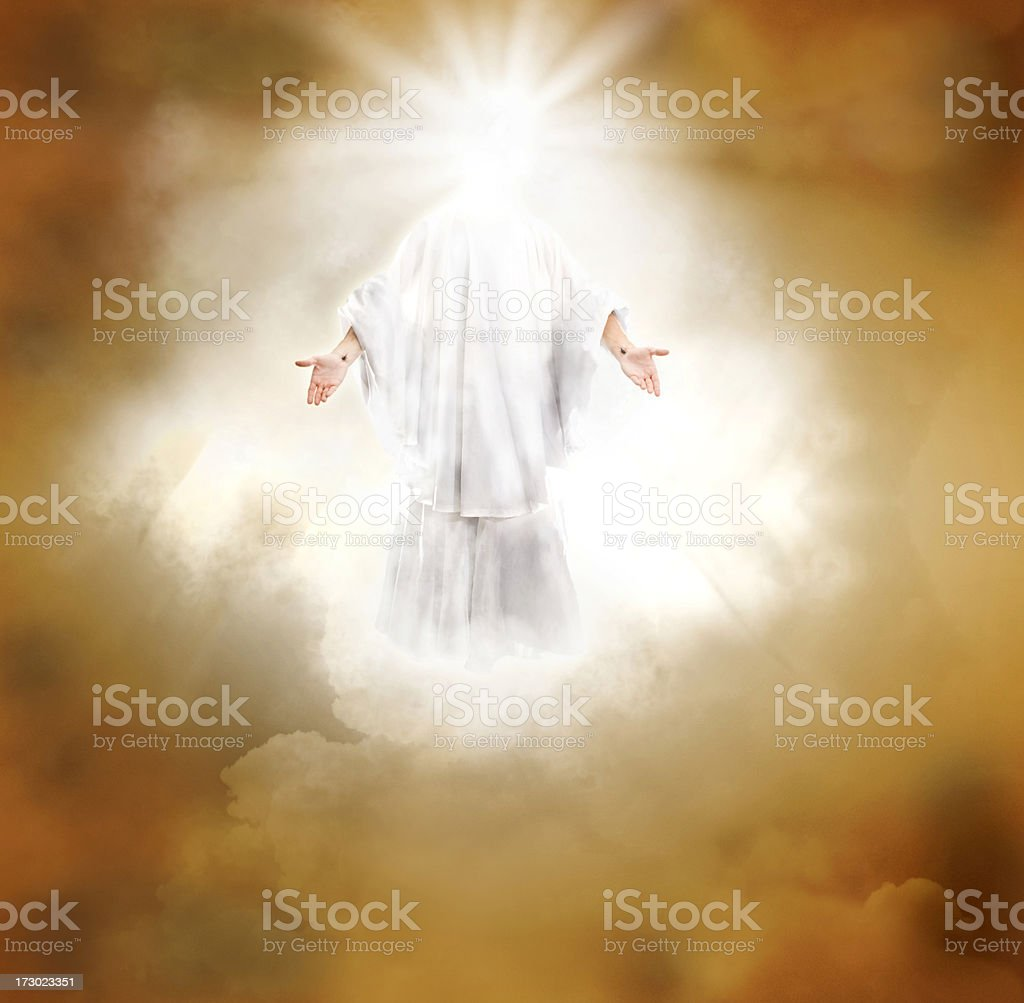 Second Coming royalty-free stock photo