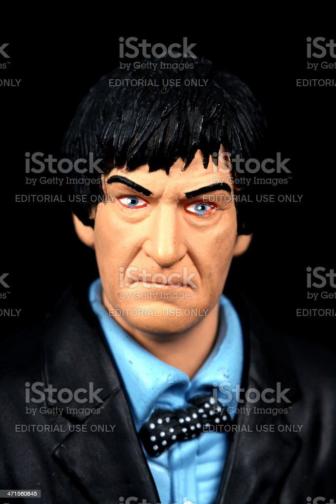 Second Doctor royalty-free stock photo