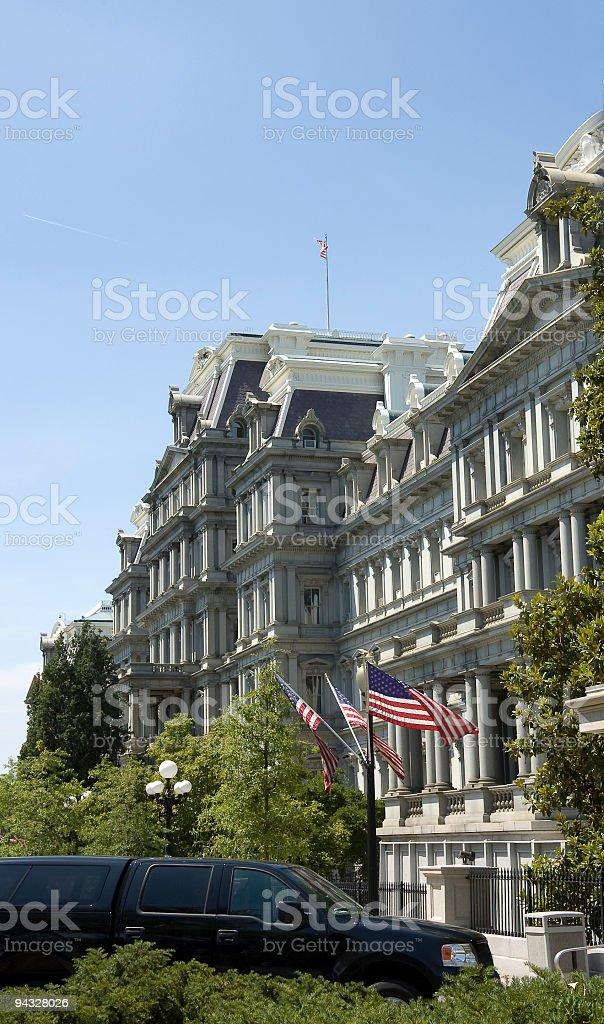 Second Empire architecture stock photo