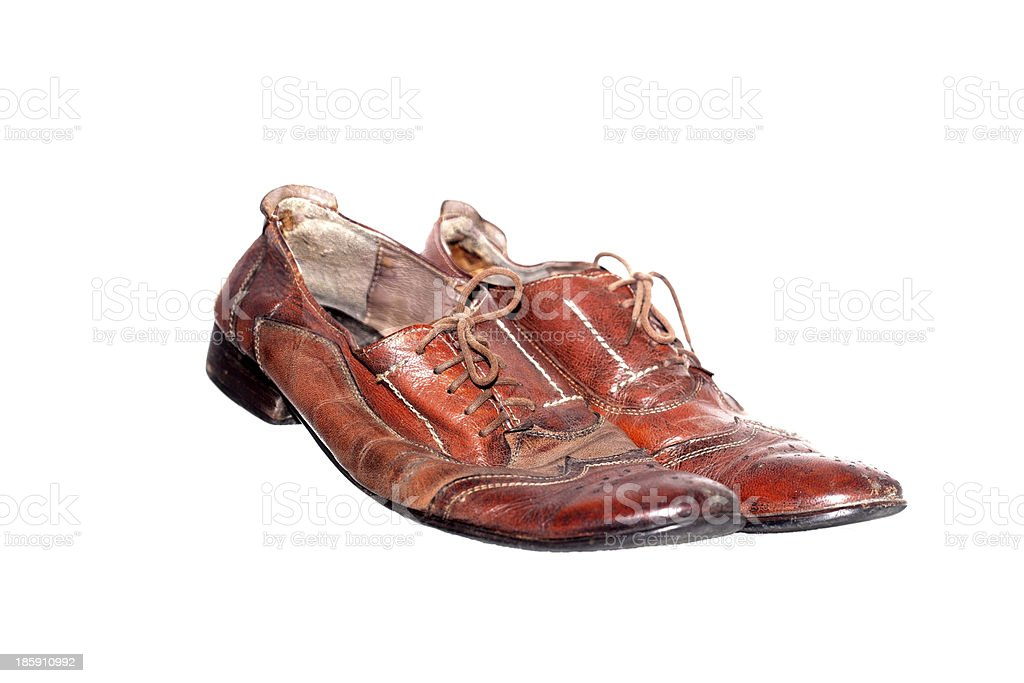 Second hand shoes royalty-free stock photo