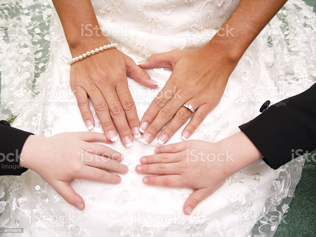 Second Marriage stock photo