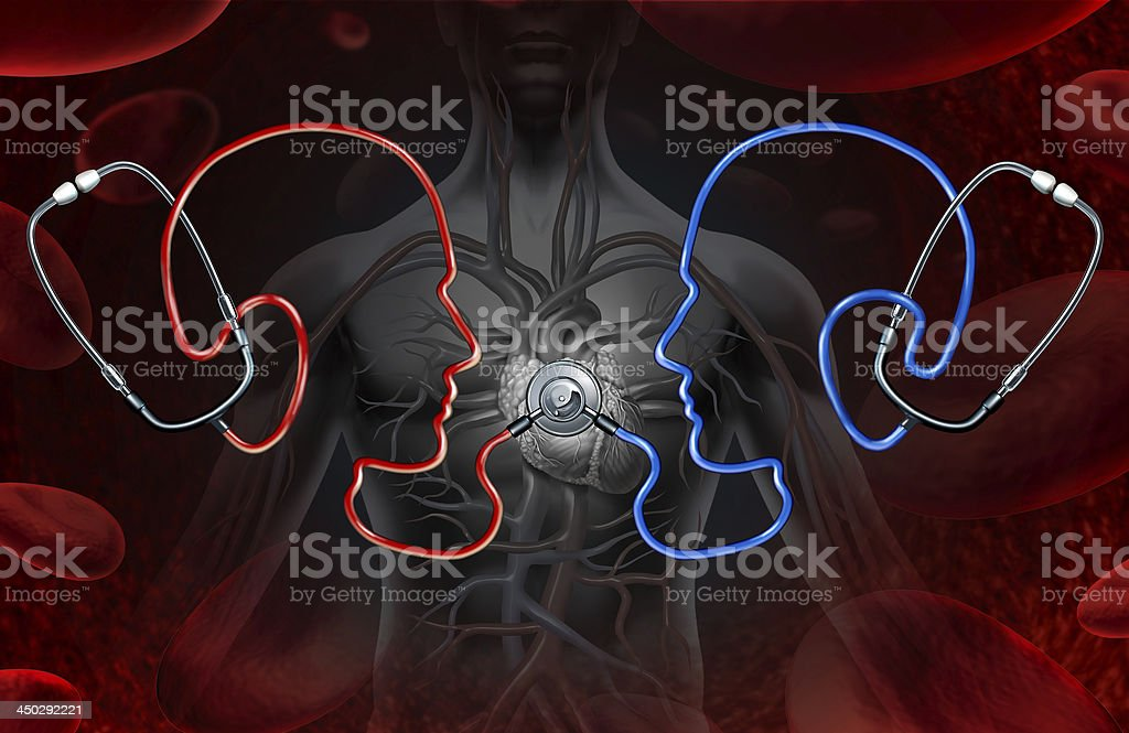 Second Medical Opinion stock photo