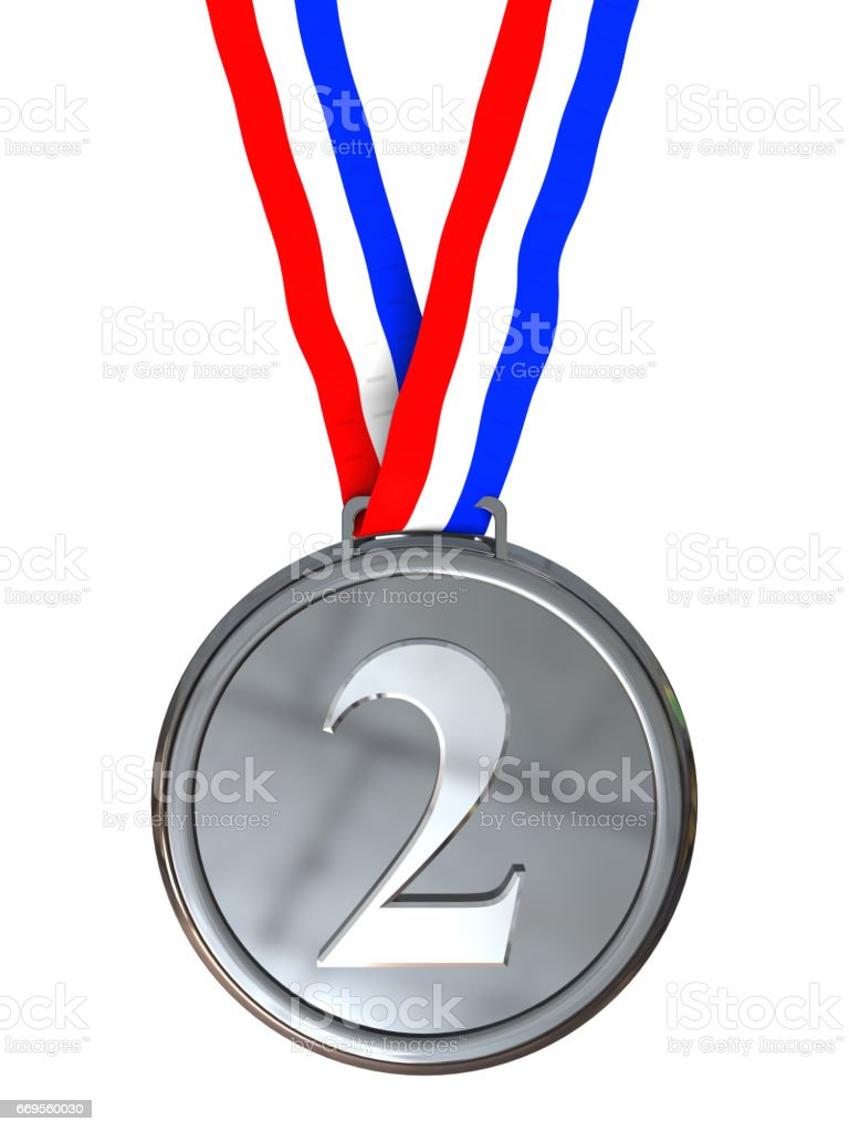 second place stock photo