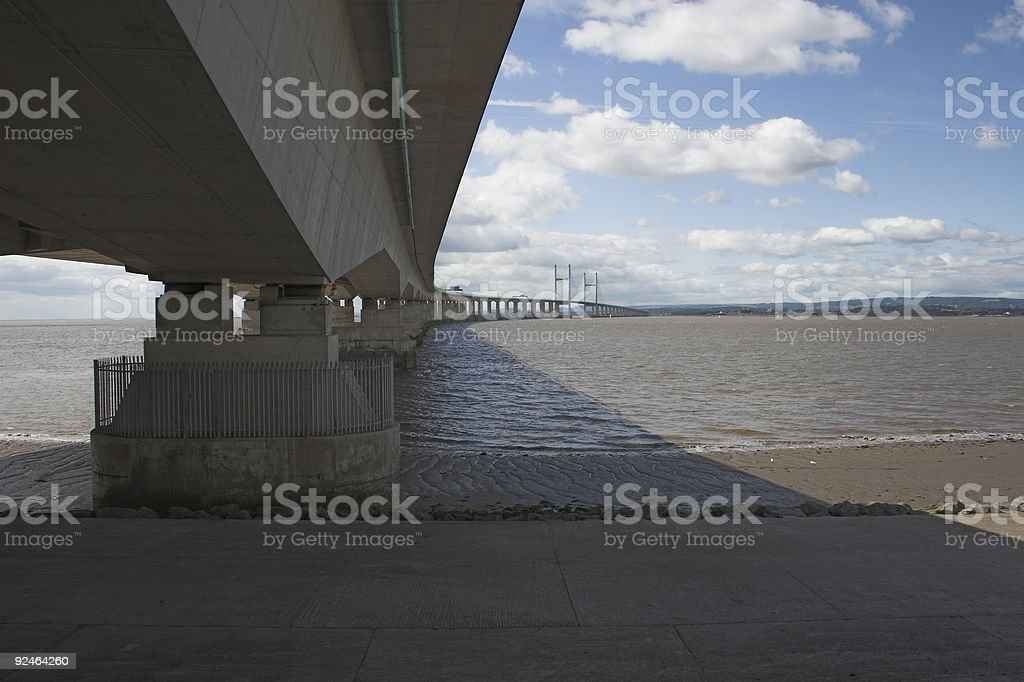 Second Severn Crossing royalty-free stock photo