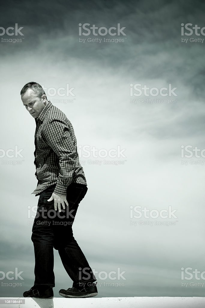 Second Thoughts royalty-free stock photo