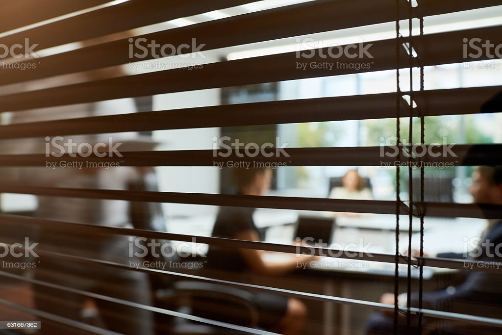 Secrecy in business stock photo