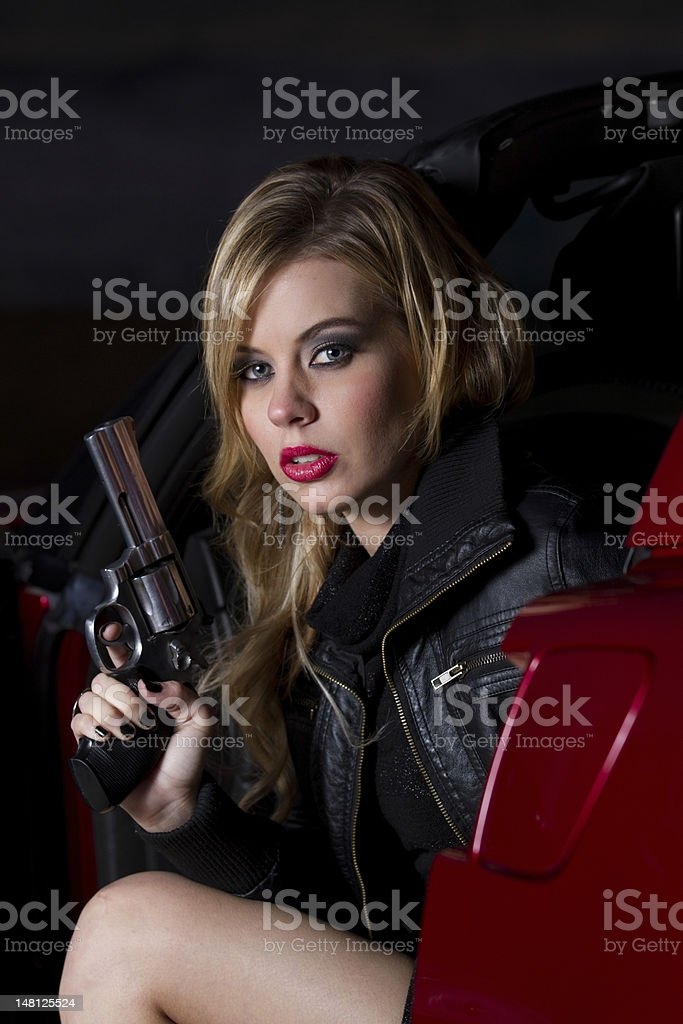 Secret Agent stock photo