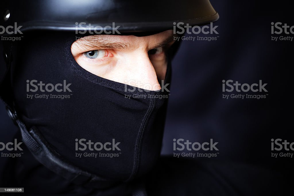 Secret Agent royalty-free stock photo