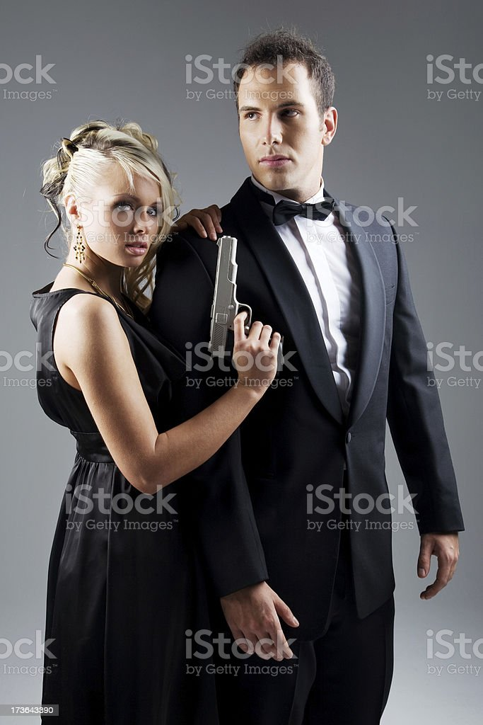 Secret Agent royalty-free stock photo