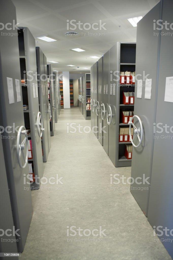 Secret Archive royalty-free stock photo