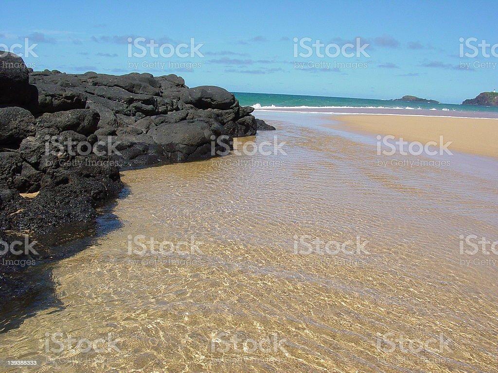 Secret Beach royalty-free stock photo