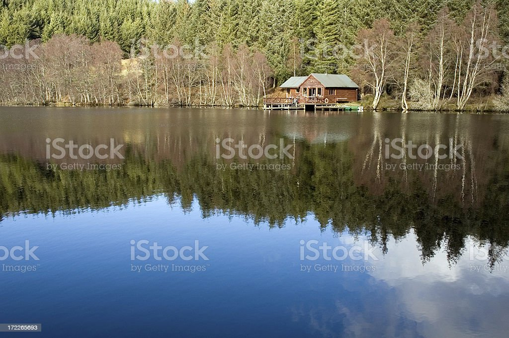 Secret Cabin royalty-free stock photo