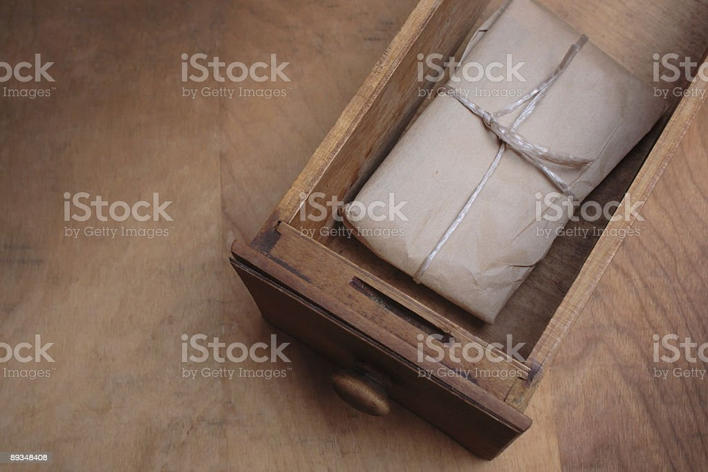 Secret Package royalty-free stock photo