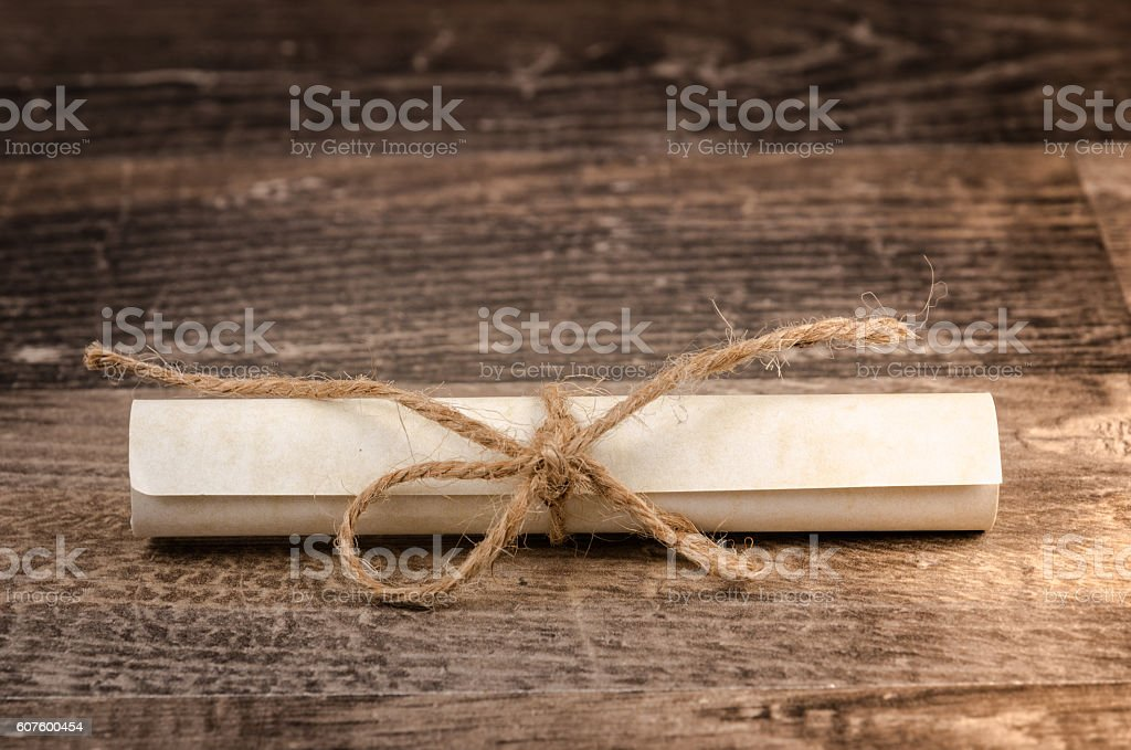Secret paper note message stock photo