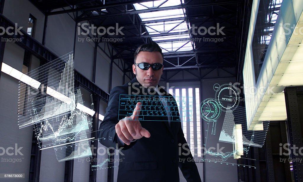 Secret Research stock photo