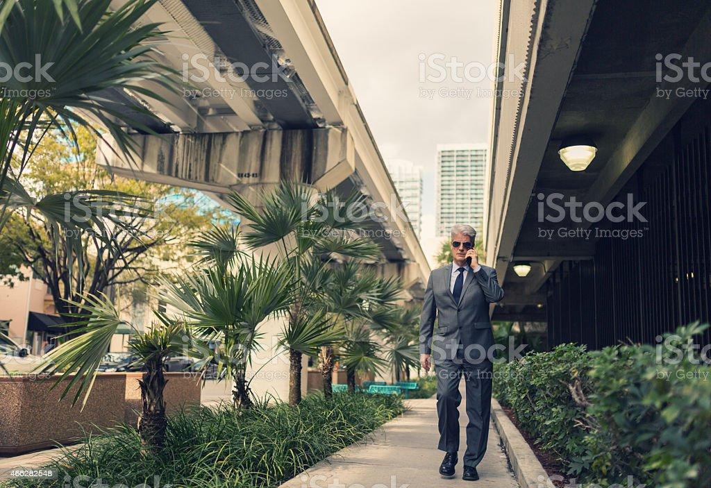 Secret service agent stock photo