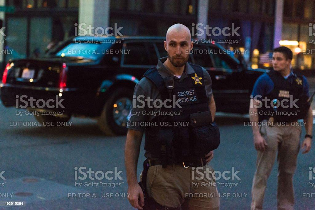Secret Service stock photo