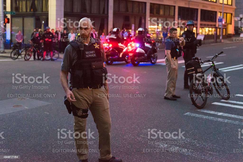 Secret Service stock photo