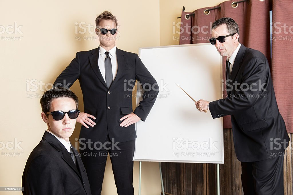 Secret Service Training Seminar stock photo
