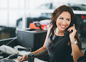 Secretary at car dealership