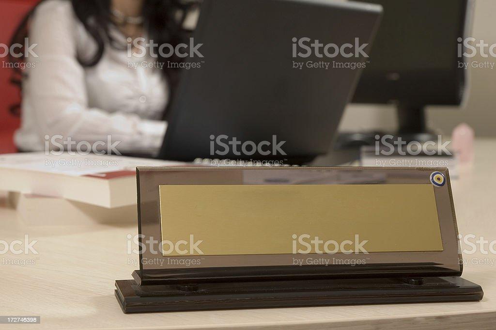 secretary stock photo
