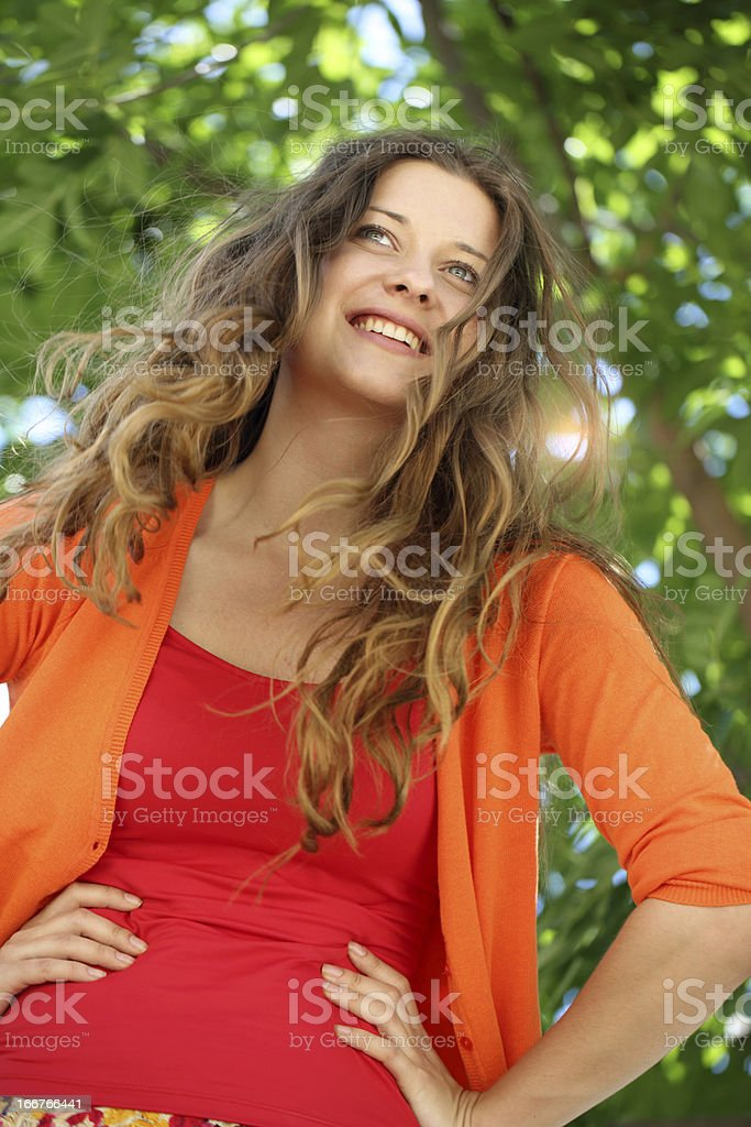 Secrets to staying younger longer royalty-free stock photo