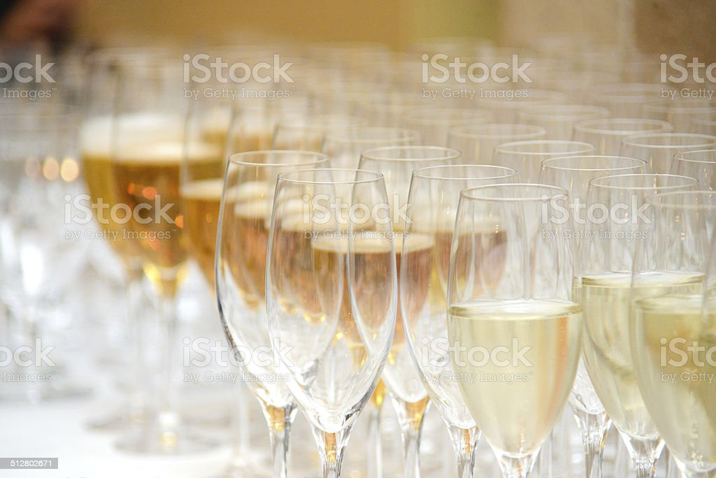 sect on catering party buffet at celebration stock photo