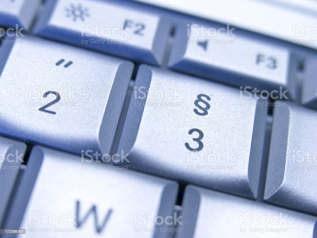 Section Button stock photo