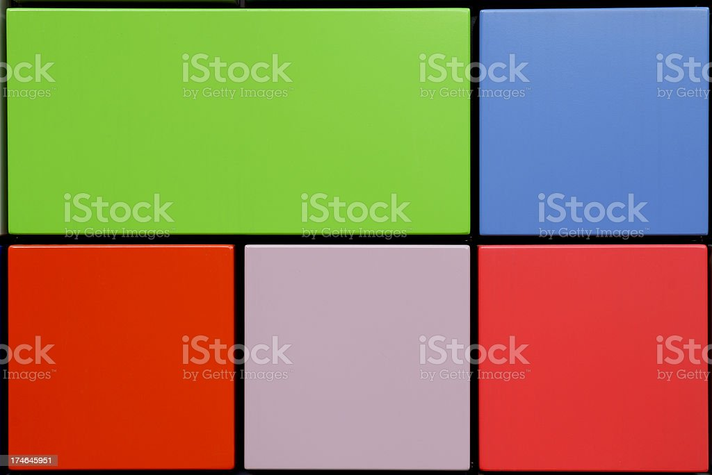 Section Of Colorful Wall royalty-free stock photo