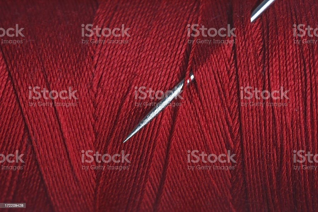 section of thread royalty-free stock photo