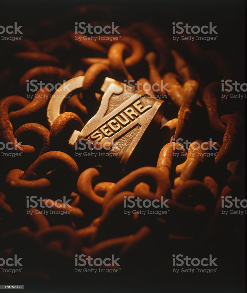 Secure 2 royalty-free stock photo