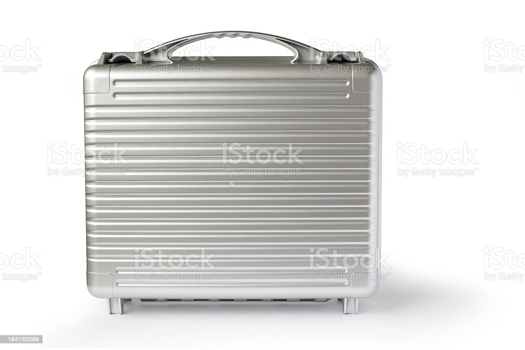 Secure Case With Clipping Path stock photo