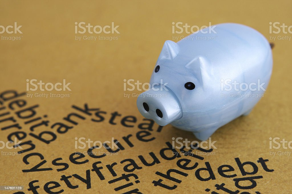 Secure concept royalty-free stock photo