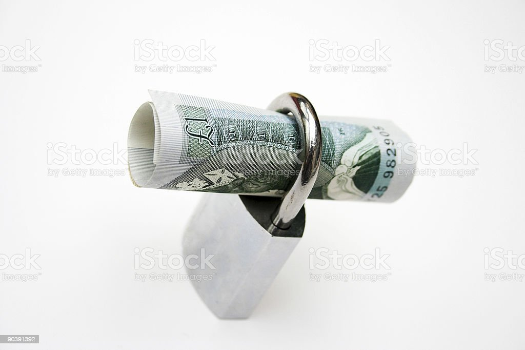 Secure pound! royalty-free stock photo