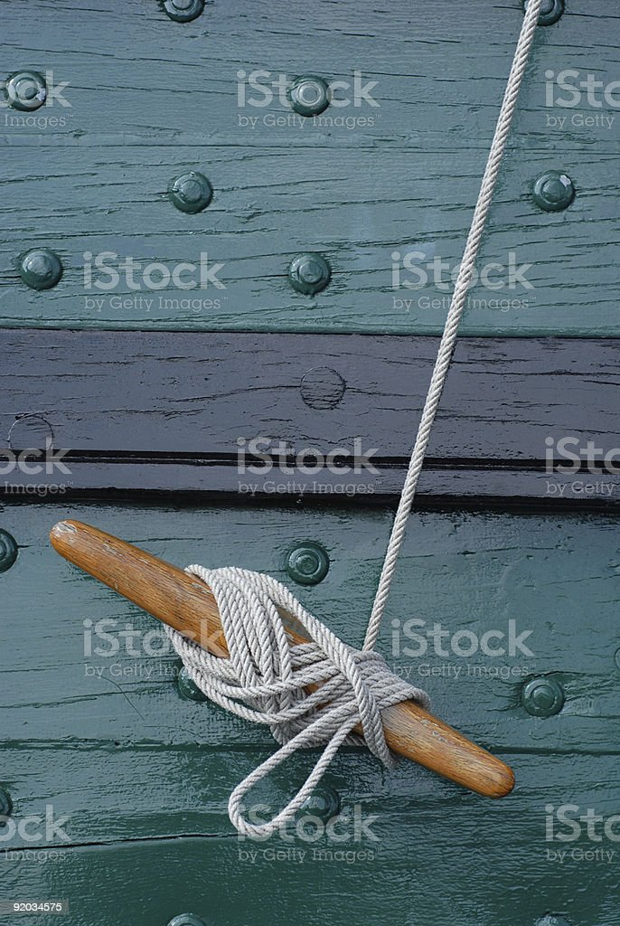 Secure Rope royalty-free stock photo