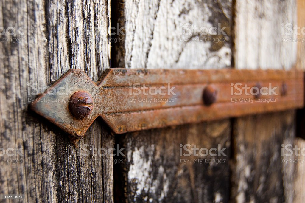 Securely fastened royalty-free stock photo