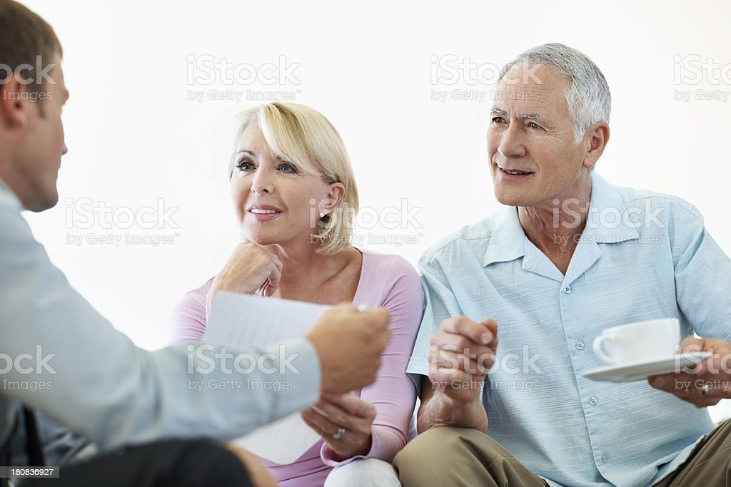Securing their future royalty-free stock photo