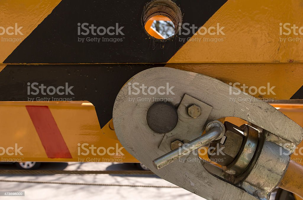 Securing transport royalty-free stock photo