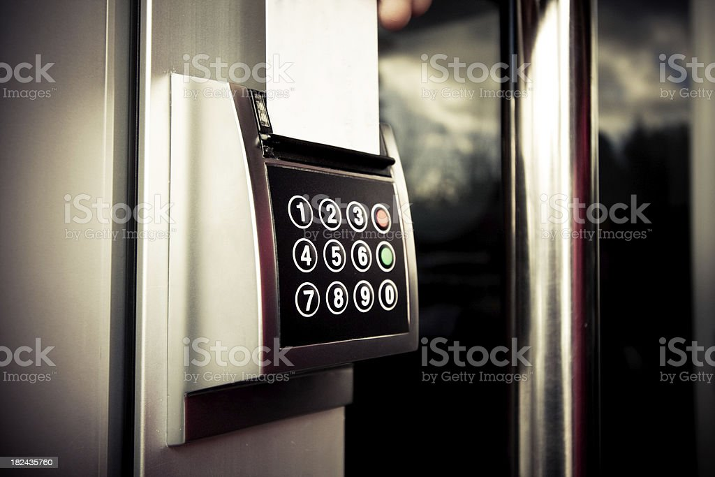 Security access control. royalty-free stock photo