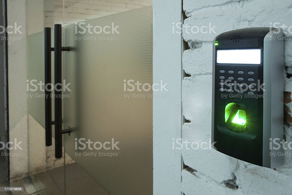 Security Access royalty-free stock photo