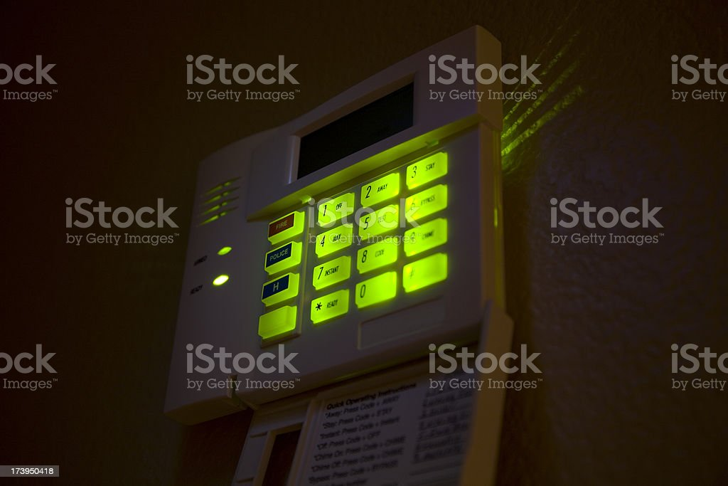 security alarm royalty-free stock photo